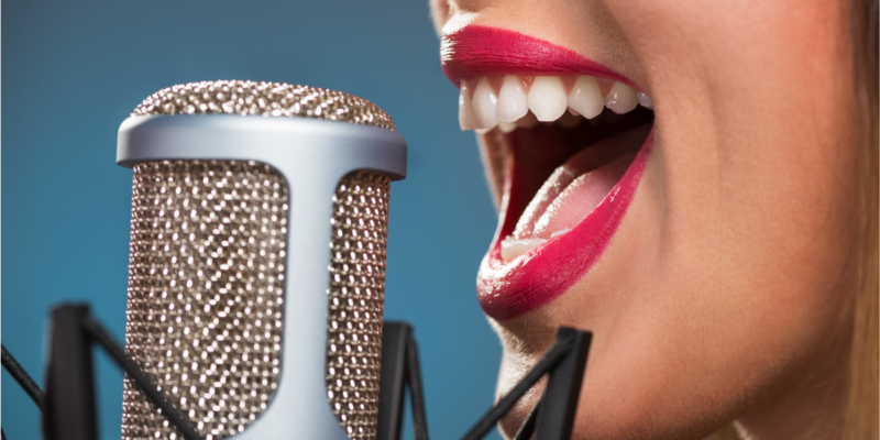 voce narrante professionista